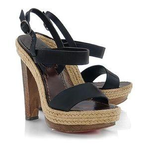 Christian Louboutin Es Cubell Platform Sandals